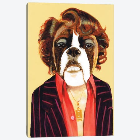 James Brown Canvas Print #COC212} by Coco de Paris Art Print
