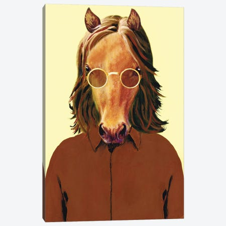 John Lennon Canvas Print #COC213} by Coco de Paris Art Print