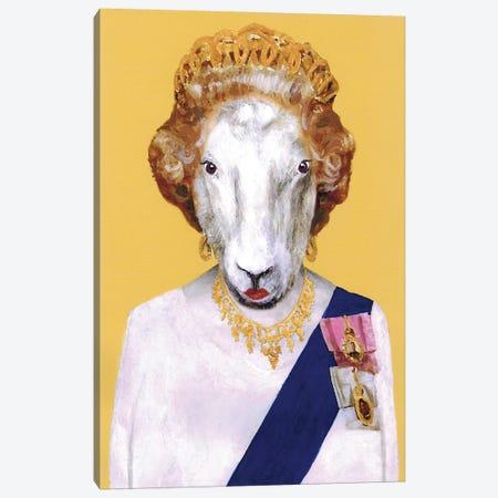 Queen Elisabeth Canvas Print #COC224} by Coco de Paris Art Print