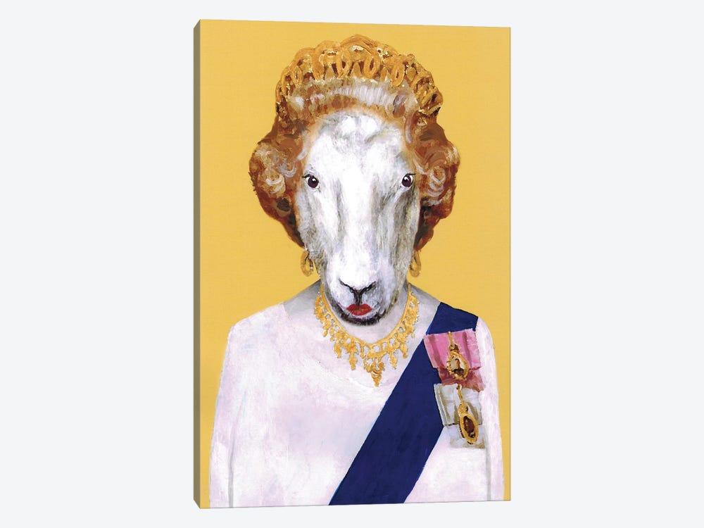 Queen Elisabeth by Coco de Paris 1-piece Canvas Artwork