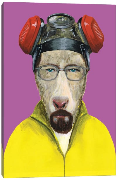 Walter White Goat Canvas Art Print