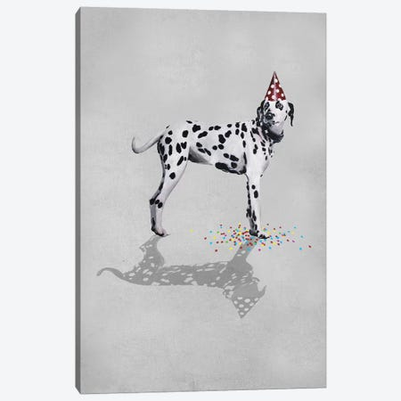 Dalmatian Party Canvas Print #COC251} by Coco de Paris Canvas Print