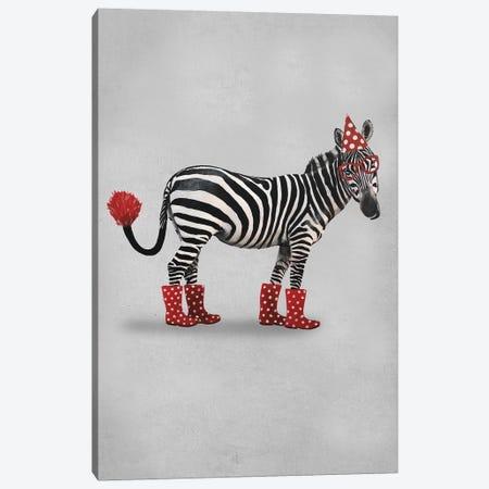 Zebra Party 3-Piece Canvas #COC261} by Coco de Paris Canvas Art