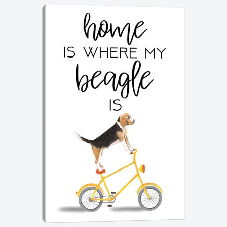 Beagle Canvas Print #COC264} by Coco de Paris Canvas Print