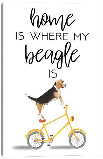 Beagle Canvas Art Print