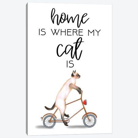 Cat Canvas Print #COC267} by Coco de Paris Canvas Art Print
