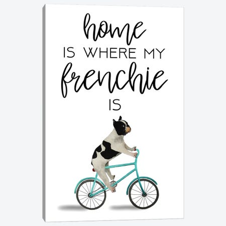 Frenchie Canvas Print #COC271} by Coco de Paris Art Print