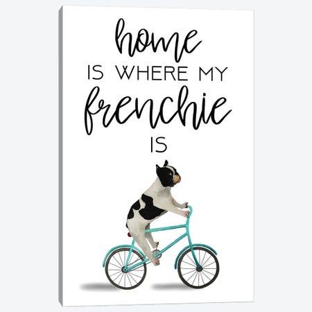 Frenchie Canvas Print #COC271} by Coco de Paris Art Print