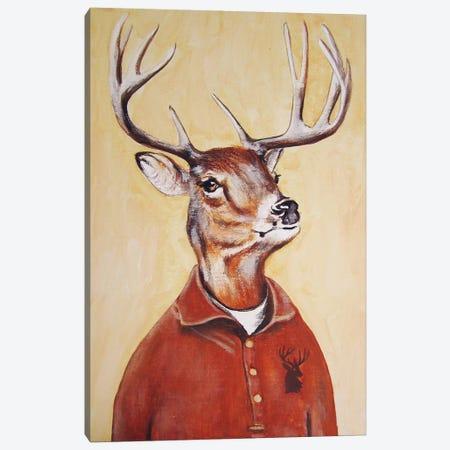 Deer Boy Canvas Print #COC30} by Coco de Paris Art Print