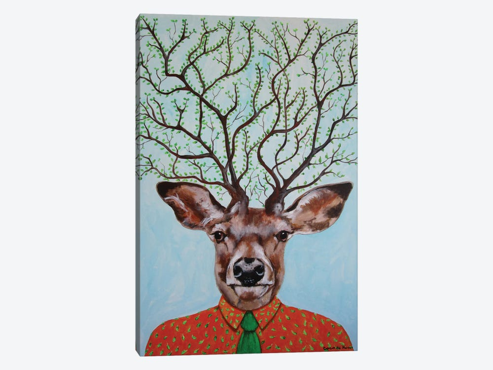 Deer Tree by Coco de paris 1-piece Art Print