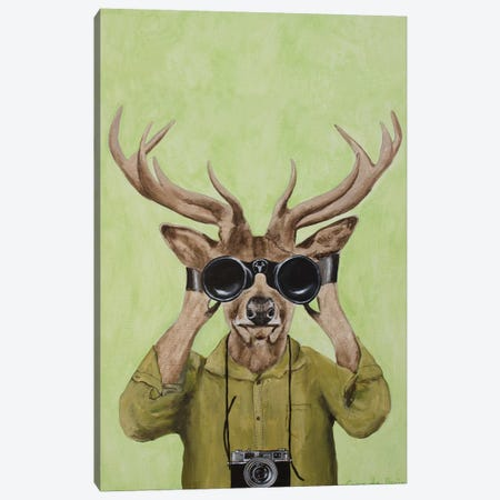 Deer Hunter 3-Piece Canvas #COC330} by Coco de Paris Canvas Wall Art
