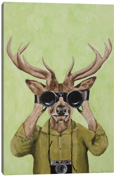 Deer Hunter Canvas Art Print