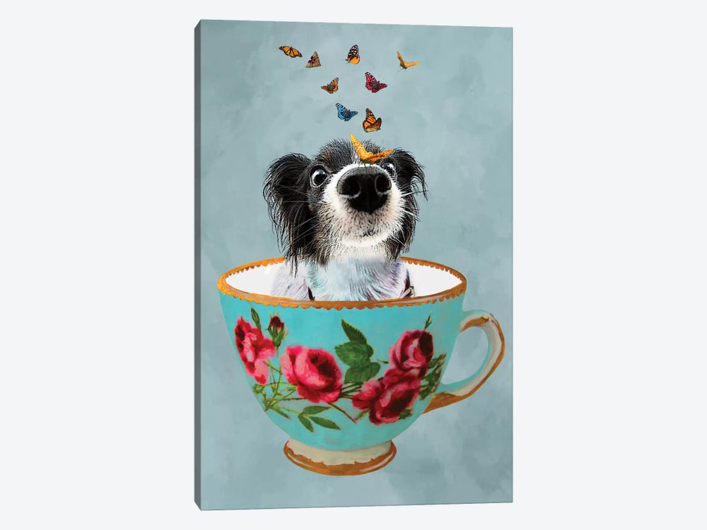 Doggy In A Cup 1-piece Art Print