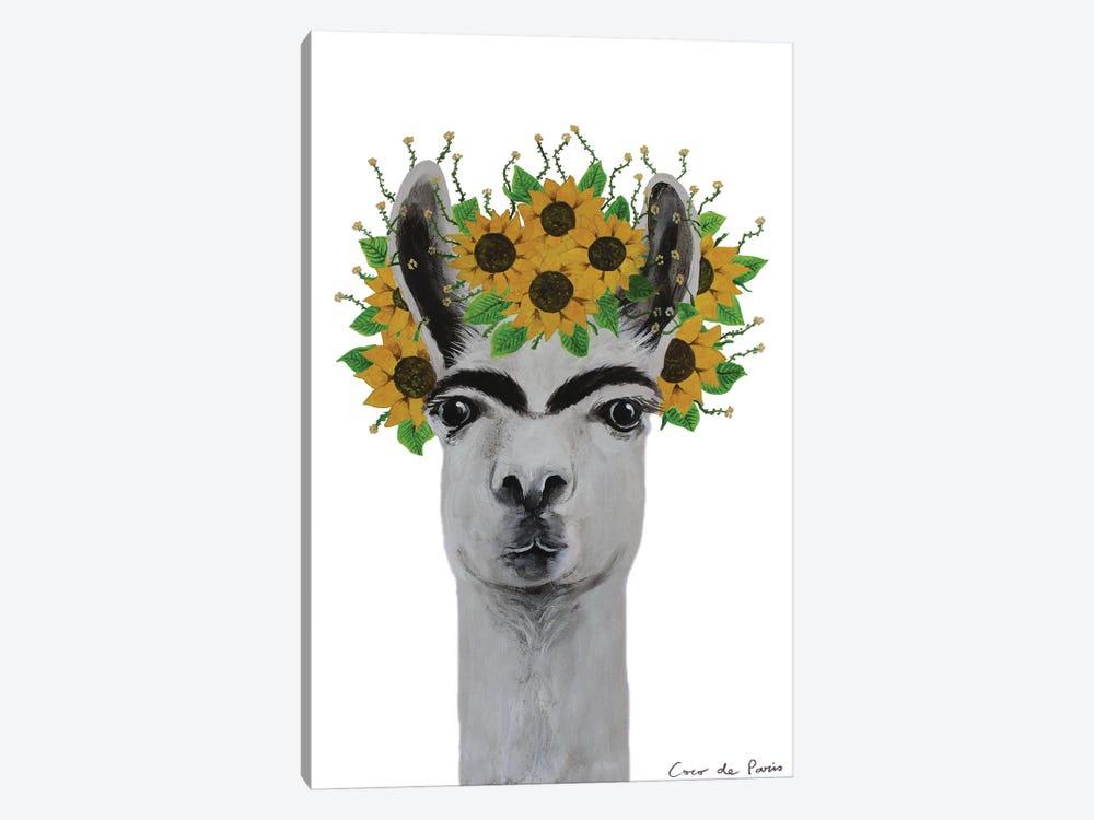 Frida Kahlo Llama by Coco de Paris 1-piece Canvas Artwork