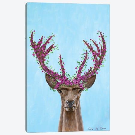 Frida Kahlo Deer Canvas Print #COC414} by Coco de Paris Canvas Artwork