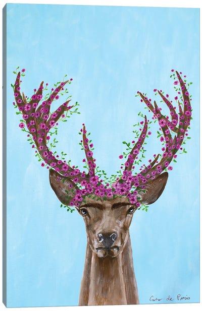 Frida Kahlo Deer Canvas Art Print