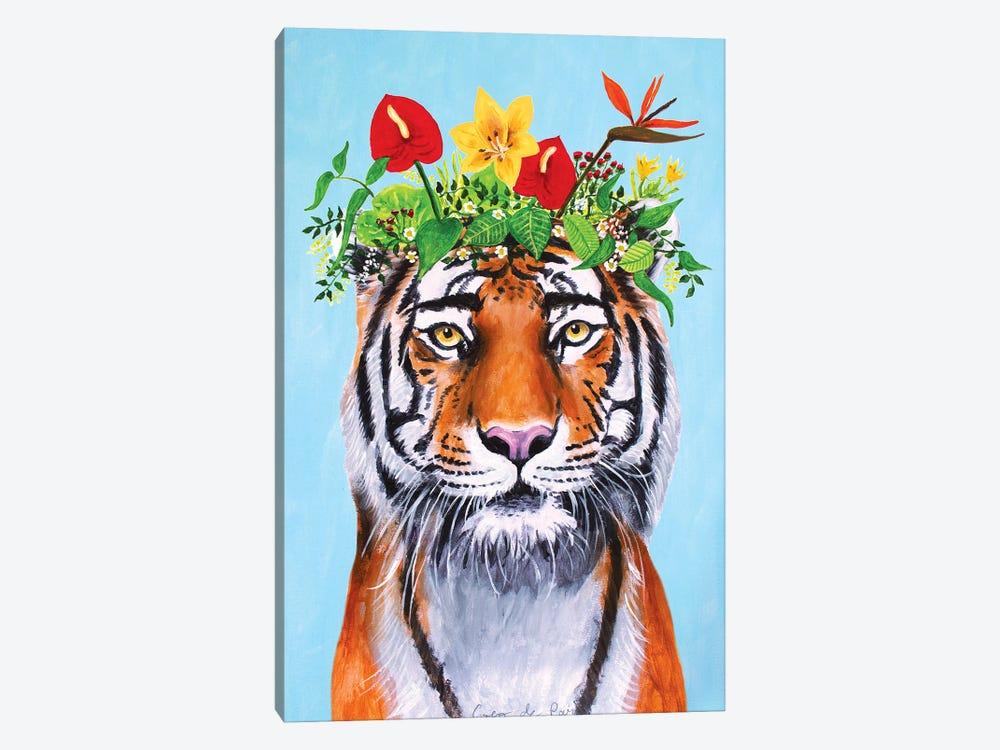 Frida Kahlo Tiger by Coco de Paris 1-piece Canvas Wall Art