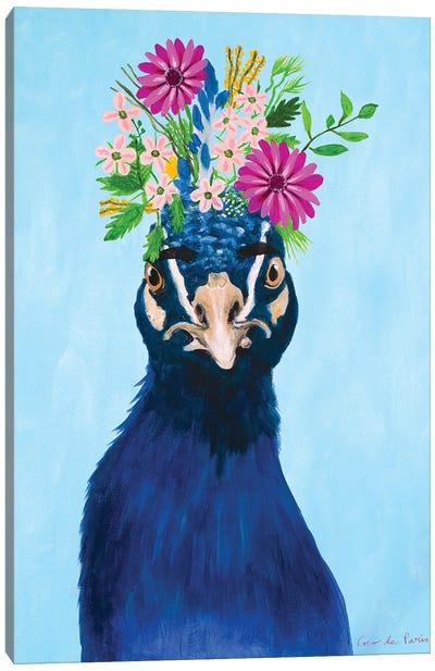 Frida Kahlo Peacock Canvas Art Print