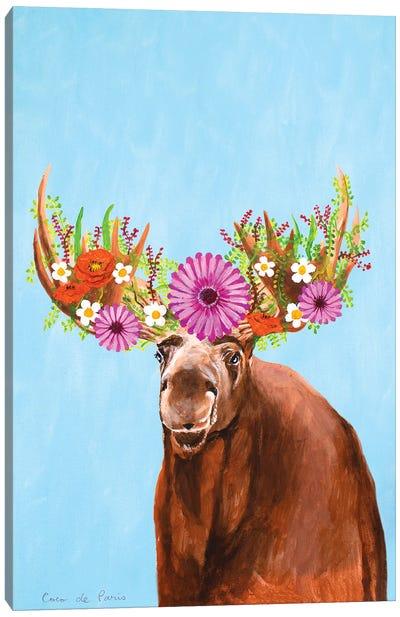 Frida Kahlo Moose Canvas Art Print