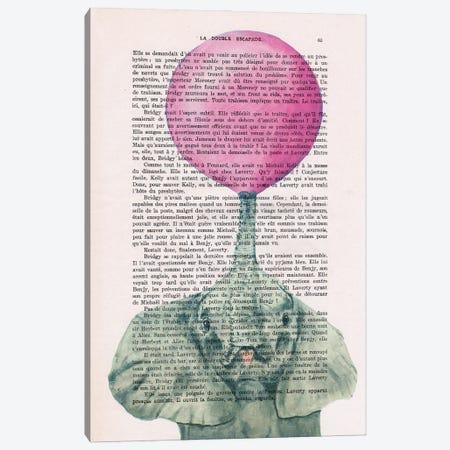 Elephant With Bubblegum II Canvas Print #COC427} by Coco de Paris Canvas Print