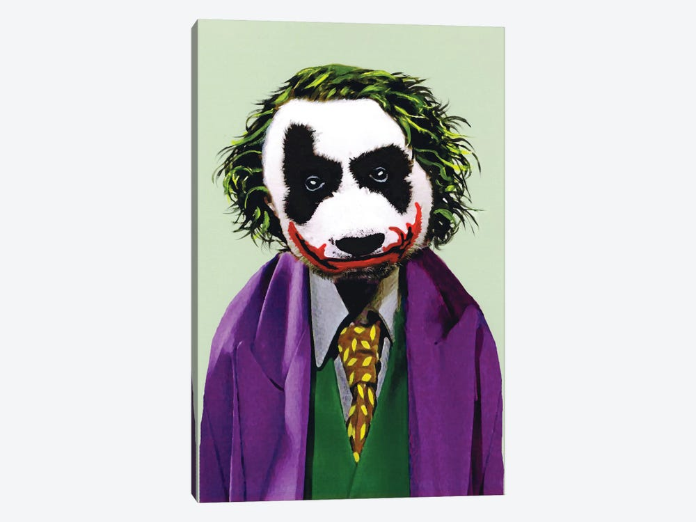 Joker Panda 1-piece Art Print
