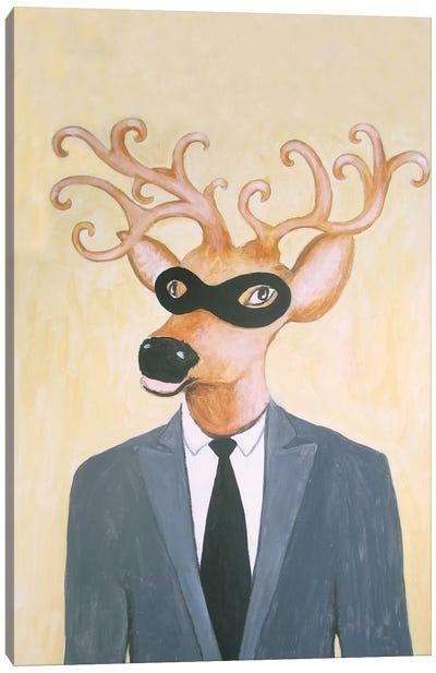 Masked Deer Canvas Print #COC52