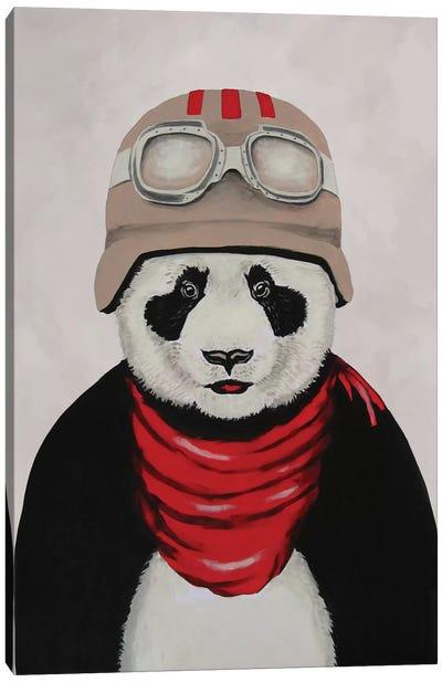 Panda Aviator Canvas Art Print