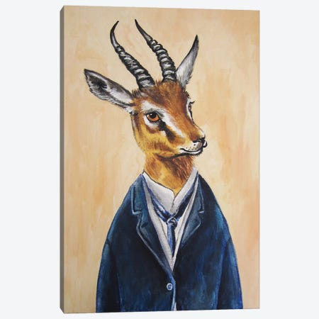 Ram Boy Canvas Print #COC66} by Coco de Paris Canvas Art Print