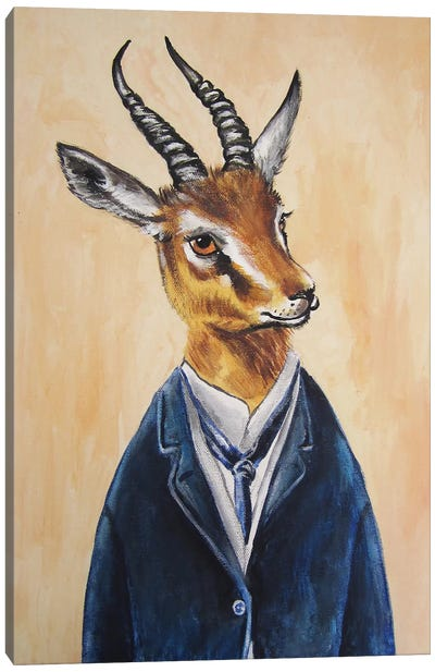 Ram Boy Canvas Print #COC66