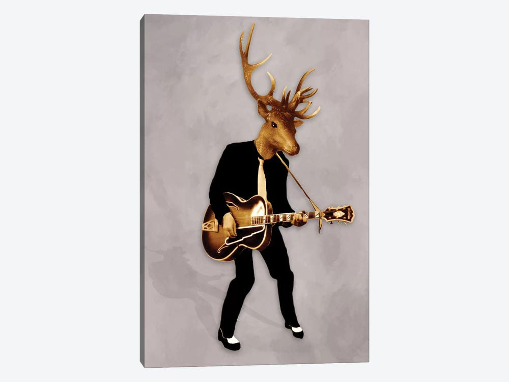 Rockin' Deer by Coco de Paris 1-piece Canvas Art