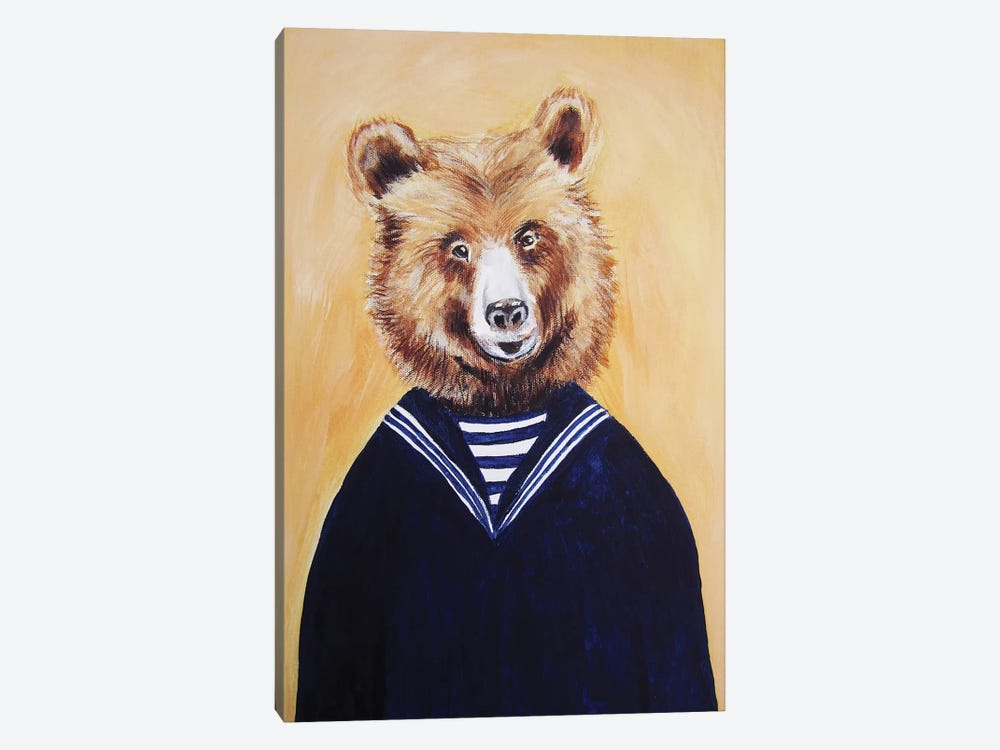 Sailor Bear by Coco de Paris 1-piece Art Print