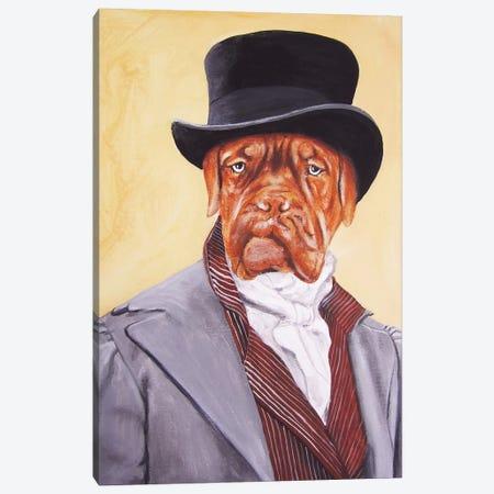 Sir Doge de Bordeaux Canvas Print #COC72} by Coco de Paris Canvas Art Print