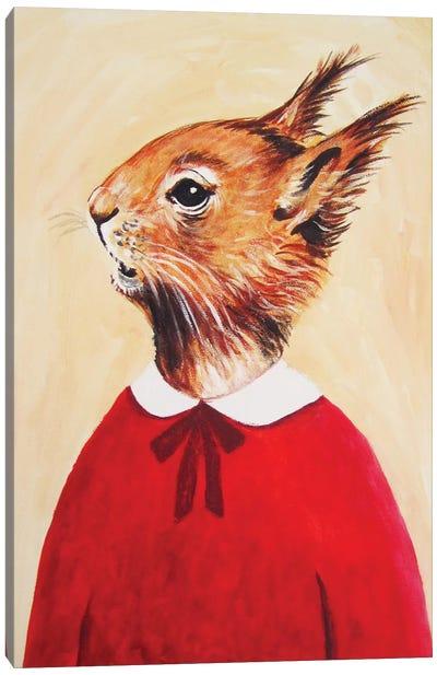Squirrel Girl Canvas Print #COC75
