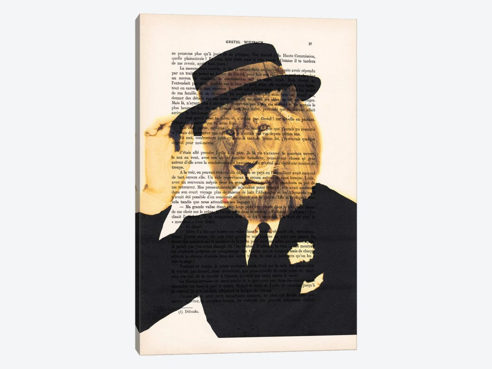 Dapper Lion by Coco de Paris 1-piece Canvas Art