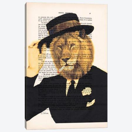 Dapper Lion Canvas Print #COC88} by Coco de Paris Canvas Art