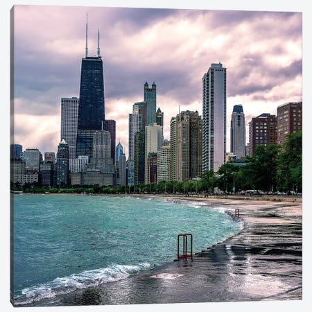 Upset Skyline Canvas Print #COG21} by Matt Coglianese Canvas Artwork