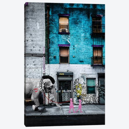 Walking Asia I Canvas Print #COG23} by Matt Coglianese Canvas Wall Art