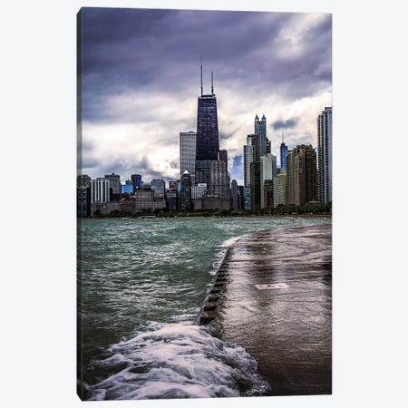 Wavecrash Canvas Print #COG25} by Matt Coglianese Canvas Art Print