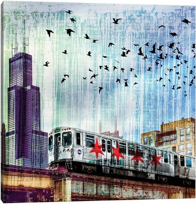 Chiraq Express Line II Canvas Art Print