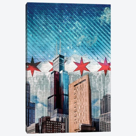 Chiraqi Tower Canvas Print #COG32} by Matt Coglianese Canvas Print