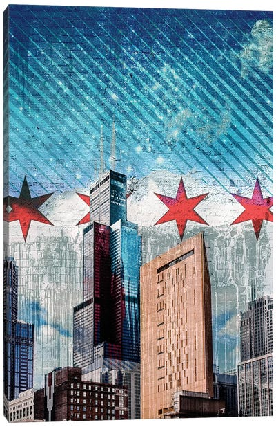 Chiraqi Tower Canvas Art Print
