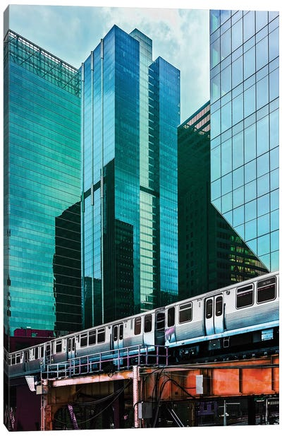 Encapsulated Post Train Canvas Art Print
