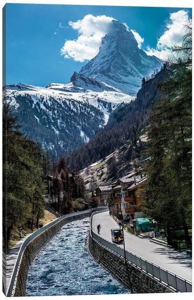 Zermatt Switzerland Canvas Art Print