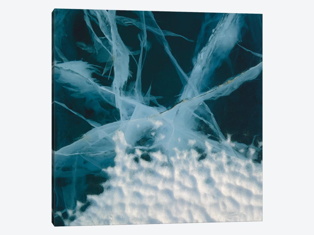 Abstract Of Marbled Ice, Antarctica by Colin Monteath 1-piece Canvas Artwork