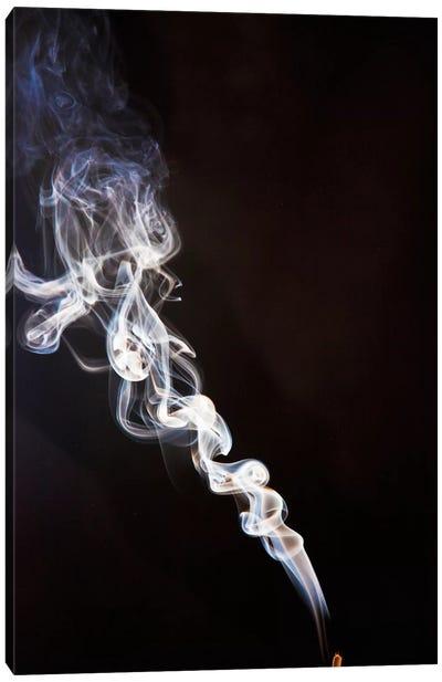 Incense Smoke Rising, New Zealand Canvas Art Print