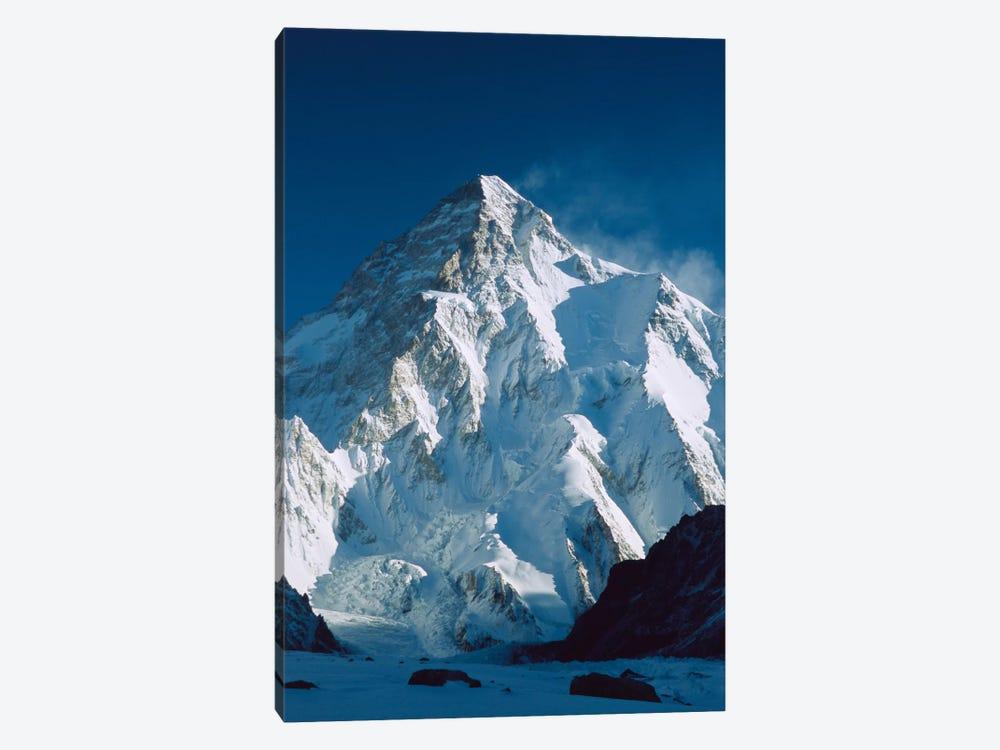 Dawn's Sunlight On K2, Karakoram Mountains, Pakistan by Colin Monteath 1-piece Canvas Print