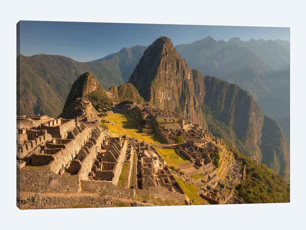 Machu Picchu At Dawn Above Urubamba Valley Near Cuzco, Peru by Colin Monteath 1-piece Canvas Artwork