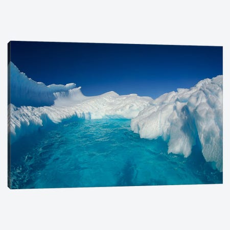 Sculpted Iceberg, Terre Adelie Land, East Antarctica Canvas Print #COL46} by Colin Monteath Canvas Wall Art