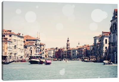 Venice Bokeh I Canvas Art Print