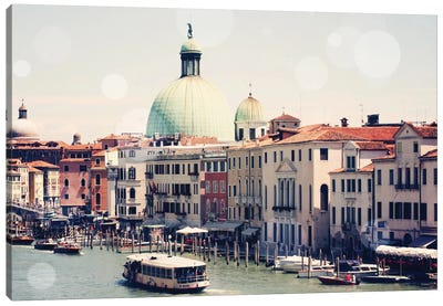 Venice Bokeh II Canvas Art Print